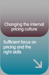 Changing the internal pricing culture